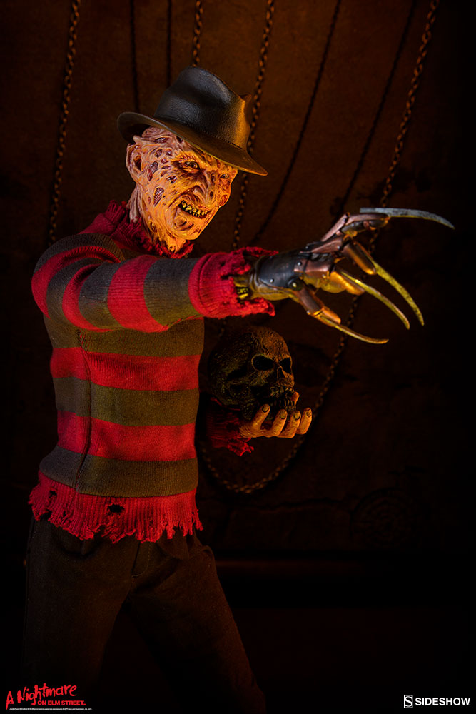 A Nightmare On Elm Street Sideshow Collectibles Freddy Krueger Premium Format 1:4 Scale Statue - Action Figure Warehouse Australia | Comic Collectables