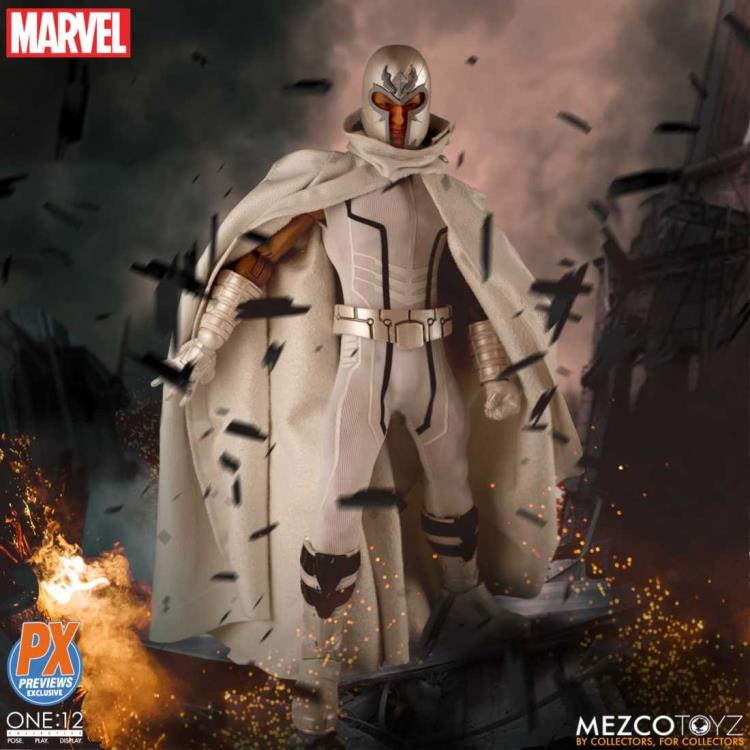 Marvel Mezco Magneto Marvel Now PX Exclusive One:12 Scale Action Figure Pre-Order