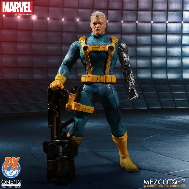 Marvel Mezco PX Exclusive X-Men Cable 1990 One:12 Scale Action Figure