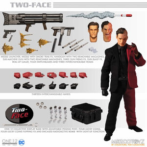 DC Mezco Batman Two-Face One:12 Scale Action Figure Pre-Order