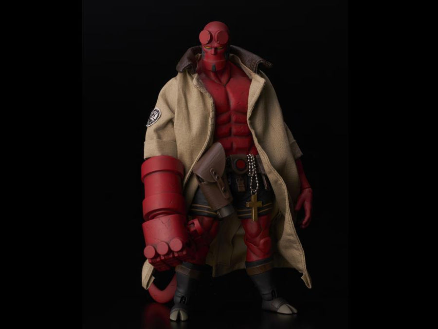 Hellboy 1000 Toys PX Exclusive Hellboy BPRD Shirt Version 1:12 Scale Action Figure