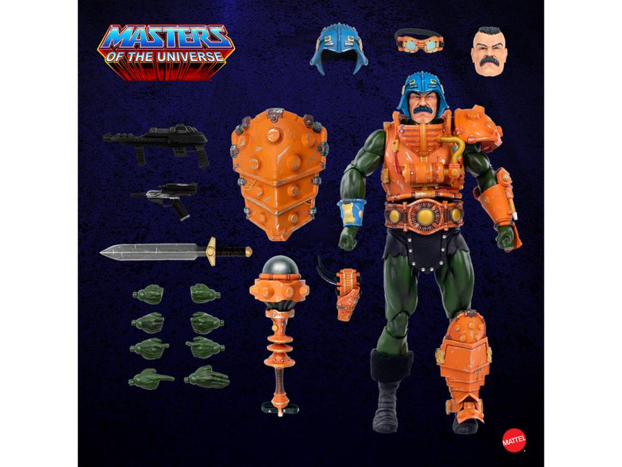 Masters Of The Universe Mondo Man-at-Arms 1:6 Scale Action Figure Pre-Order