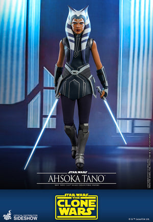 Star Wars Hot Toys The Clone Wars Ahsoka Tano 1:6 Scale Action Figure TMS021 Pre-Order