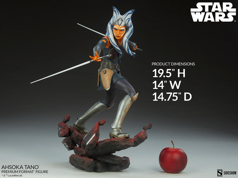 Star Wars Sideshow Collectibles Ahsoka Tano Premium Format 1:4 Scale Statue Pre-Order
