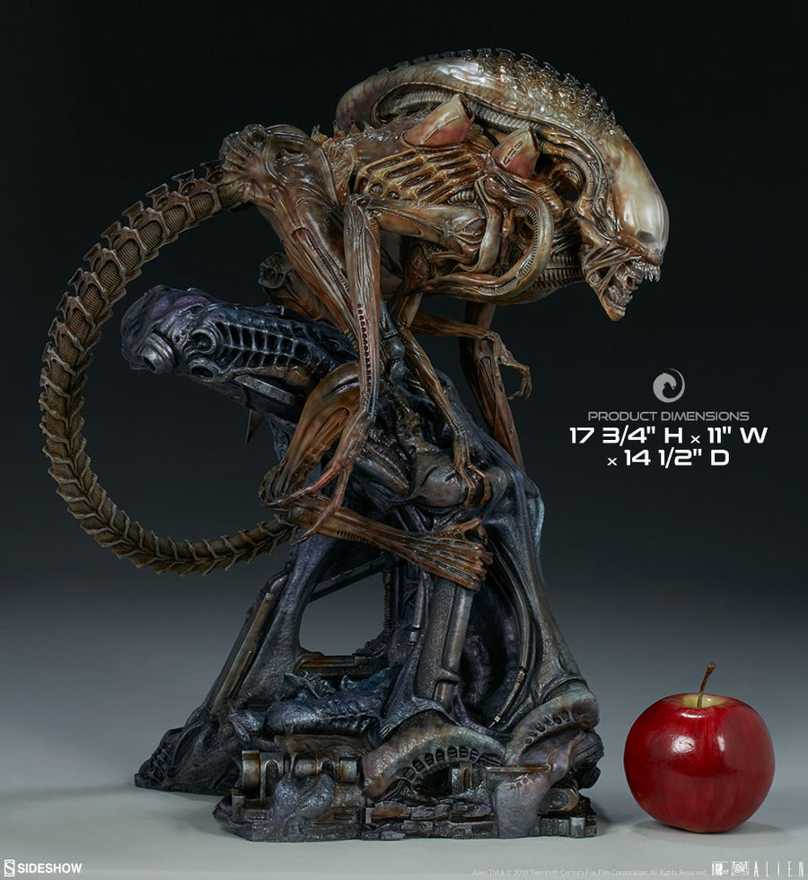 Aliens Sideshow Collectibles Alien Warrior Mythos Maquette Statue