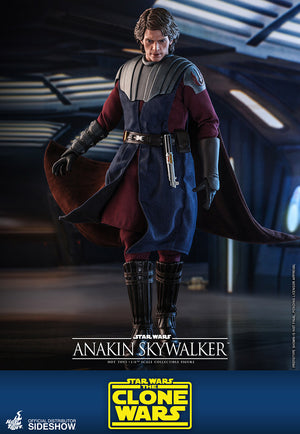 Star Wars Hot Toys The Clone Wars Anakin Skywalker 1:6 Scale Action Figure TMS019 Pre-Order