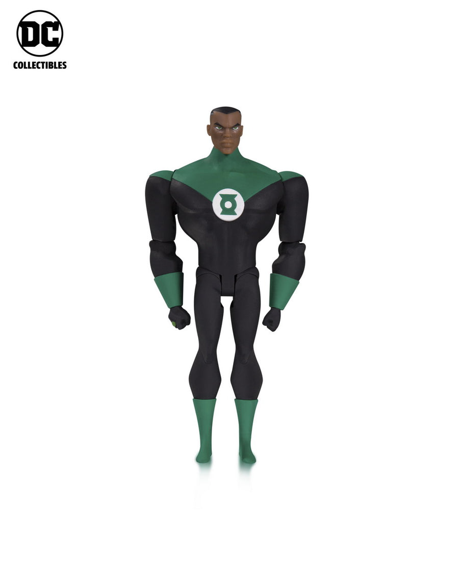 DC Justice League The Animated Series Green Lantern John Stewart Action Figure