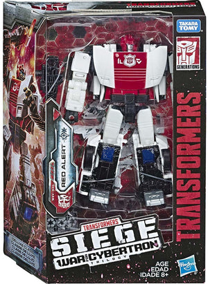Transformers Siege War For Cybertron Deluxe Red Alert