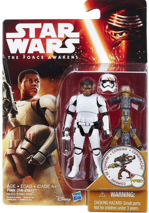 Star Wars The Force Awakens Finn FN-2187 3.75 Inch Action Figure