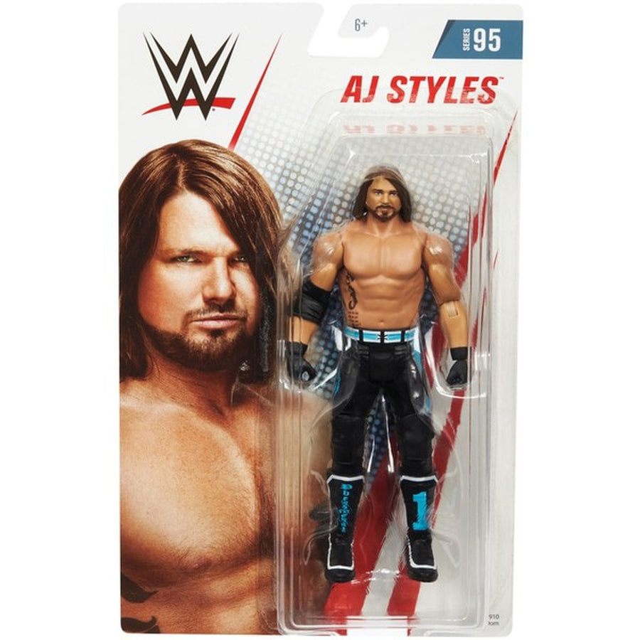 WWE Wrestling Basic Series #95 AJ Styles Action Figure
