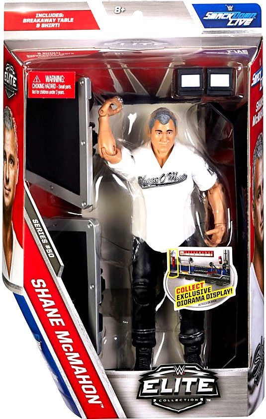 WWE Wrestling Elite Series #50 Shane McMahon Action Figure