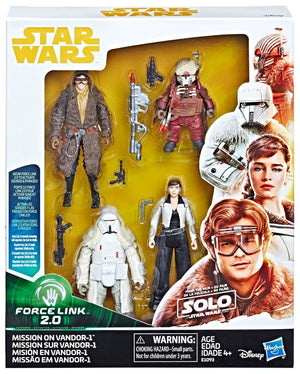 Star Wars Solo Mission on Vandor-1 Action Figure 4-Pack 3.75 Inch Pre-Order