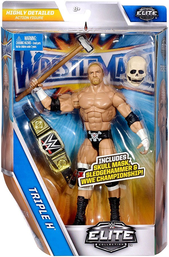 WWE Wrestling Elite Series Wrestlemania 33 Triple H Action Figure