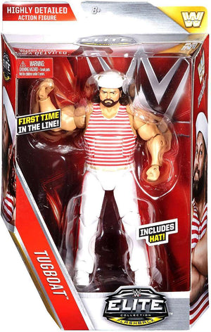 WWE Wrestling Elite Series #44 Tugboat Action Figure