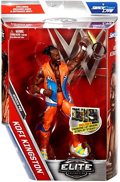 WWE Wrestling Elite Series #52 Kofi Kingston Action Figure
