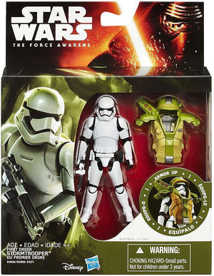 Star Wars The Force Awakens Deluxe First Order Stormtrooper Action Figure