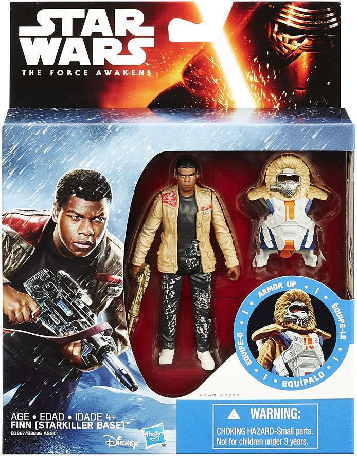 Star Wars Force Awakens Deluxe Finn Starkiller Base Action Figure