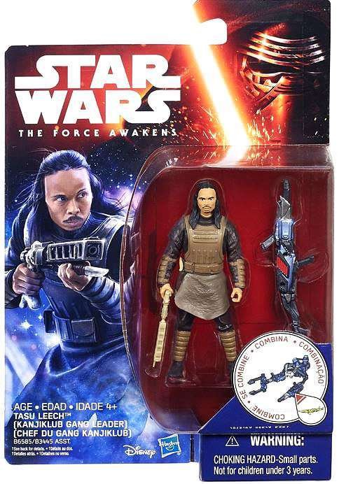 Star Wars The Force Awakens Tasu Leech 3.75 Inch Action Figure