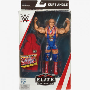 WWE Wrestling Elite Series #59 Kurt Angle Action Figure