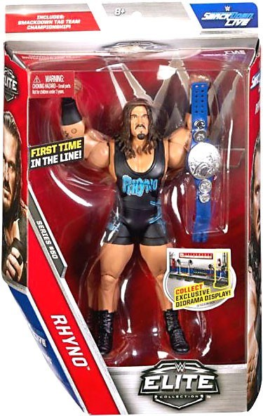 WWE Wrestling Elite Series #50 Rhyno Action Figure