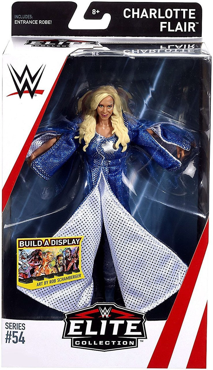 WWE Wrestling Elite Series #54 Charlotte Flair Action Figure