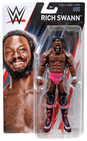 WWE Wrestling Basic Series #80 Rich Swann Action Figure