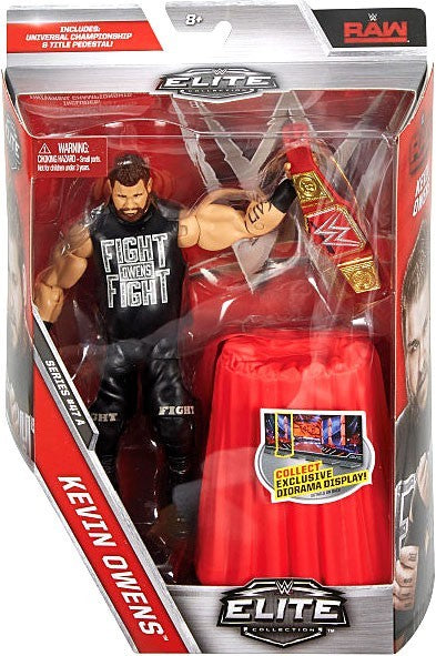 WWE Wrestling Elite Series #47 Kevin Owens Action Figure
