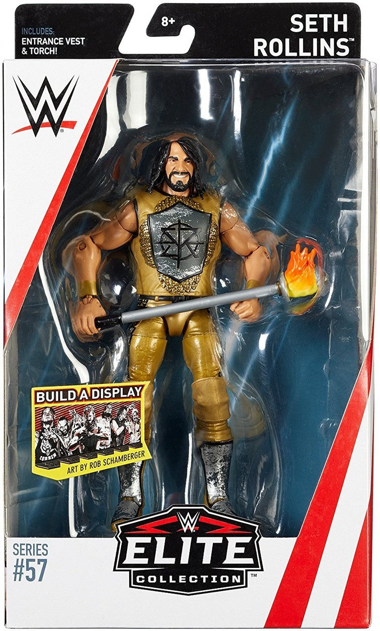 WWE Wrestling Elite Series #57 Seth Rollins Action Figure