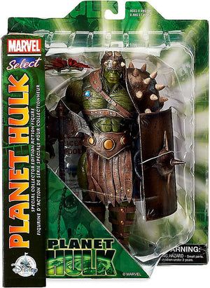 Marvel Diamond Select Planet Hulk Action Figure Pre-Order