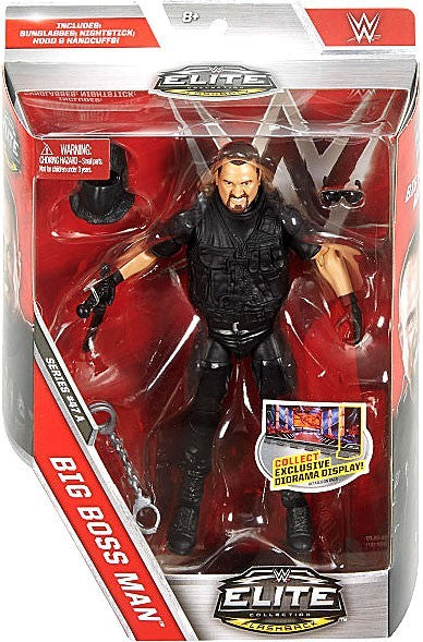 WWE Wrestling Elite Series #47 Big Boss Man Action Figure