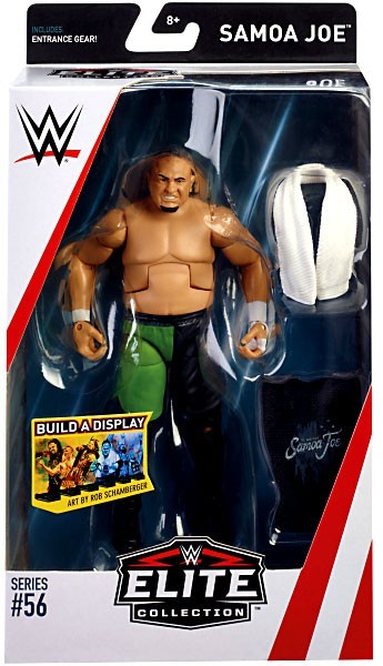 WWE Wrestling Elite Series #56 Samoa Joe Action Figure
