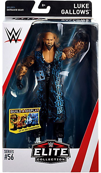 WWE Wrestling Elite Series #56 Luke Gallows Action Figure
