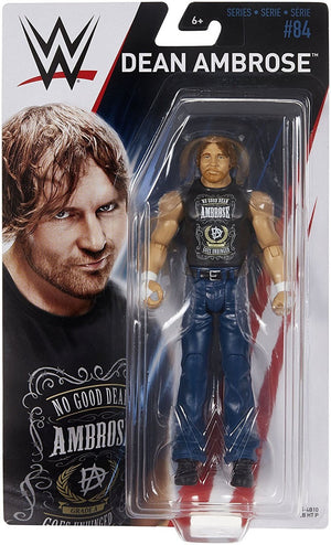 WWE Wrestling Basic Series #84 Dean Ambrose w/ MITB Briefcase Action Figure