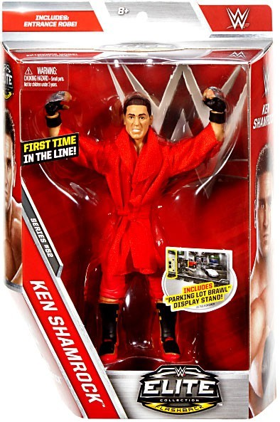 WWE Wrestling Elite Series #52 Ken Shamrock Action Figure