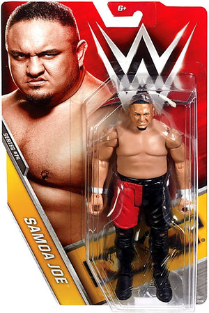 WWE Wrestling Basic Series #74 Samao Joe Action Figure
