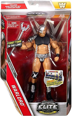 WWE Wrestling Elite Series #50 Warlord Action Figure