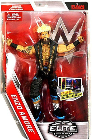 WWE Wrestling Elite Series #49 Enzo Amore Action Figure