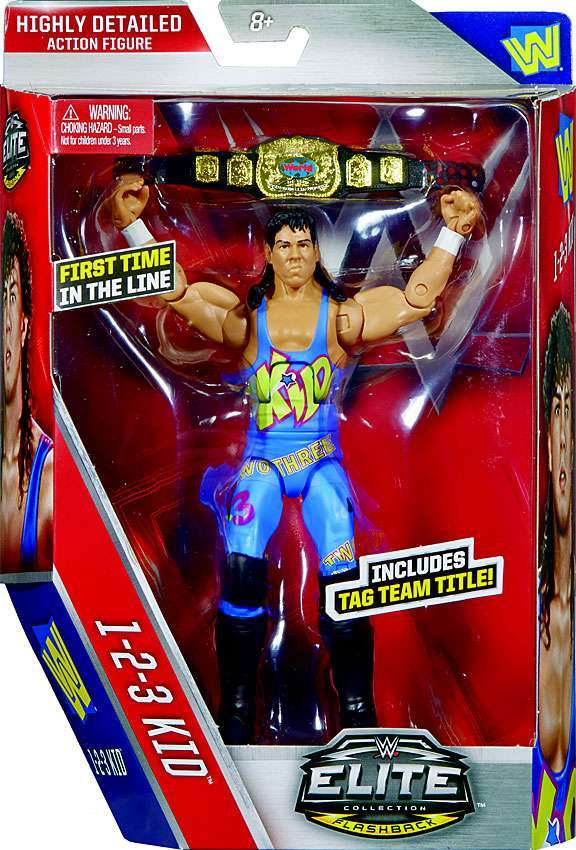 WWE Wrestling Elite Series #41 123 Kid Action Figure
