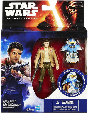 Star Wars Force Awakens Deluxe Poe Dameron Action Figure