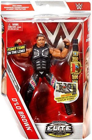WWE Wrestling Elite Series #52 D'Lo Brown Action Figure
