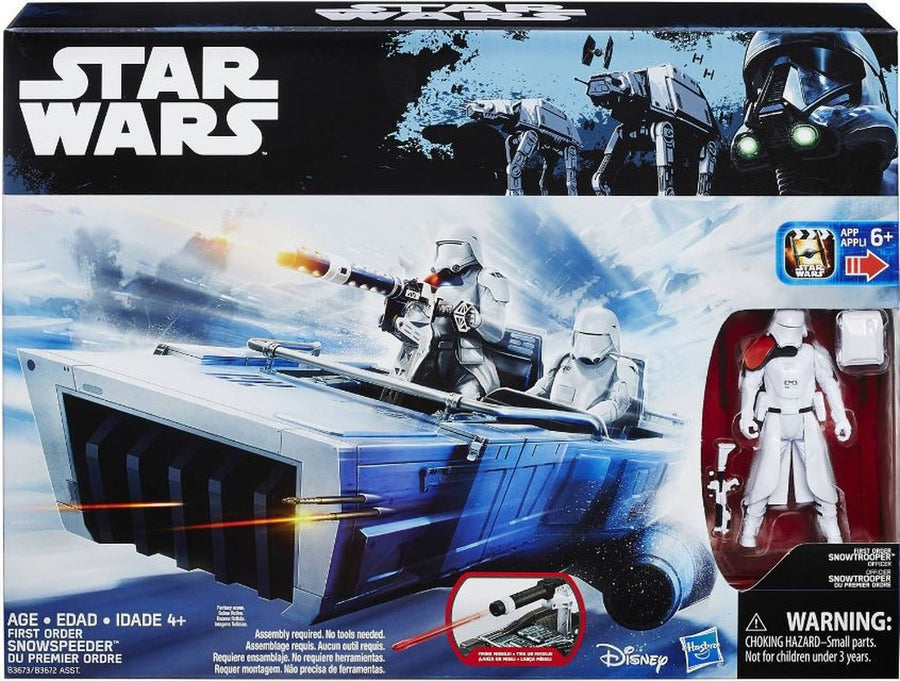 Star Wars Rogue One First Order Snowspeeder Vehicle 3.75 Inch Action Figure