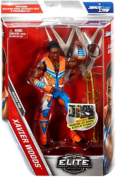 WWE Wrestling Elite Series #52 Xavier Woods Action Figure