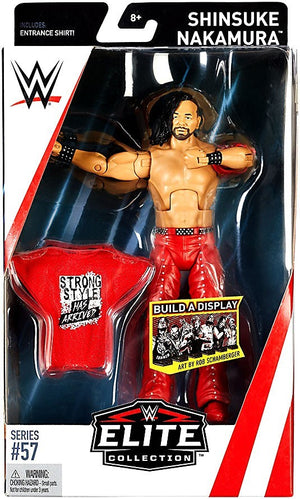 WWE Wrestling Elite Series #57 Shinsuke Nakamura Action Figure