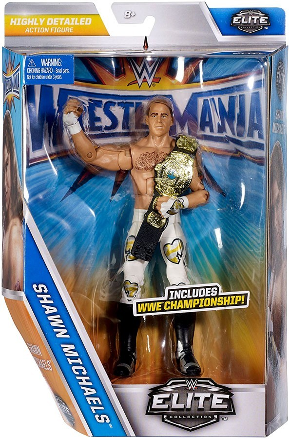 WWE Wrestling Elite Series Wrestlemania 33 Shawn Michaels Action Figure