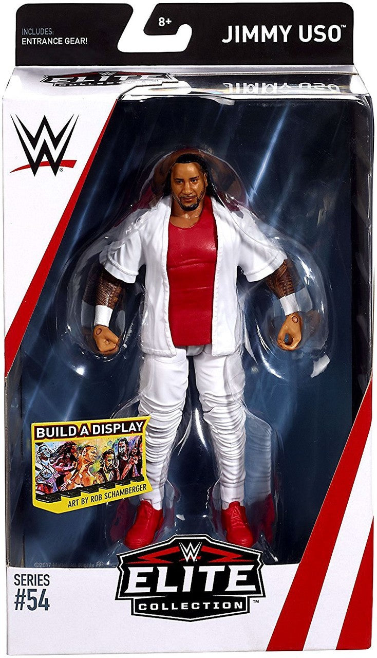 WWE Wrestling Elite Series #54 Jimmy Uso Action Figure