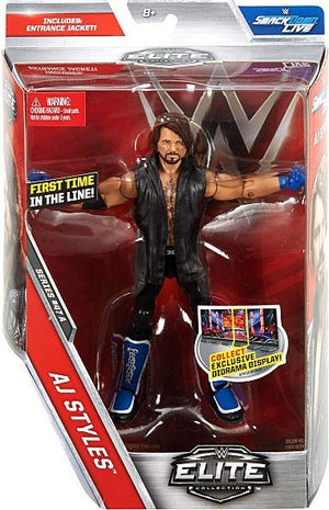 WWE Wrestling Elite Series #47 AJ Styles Action Figure