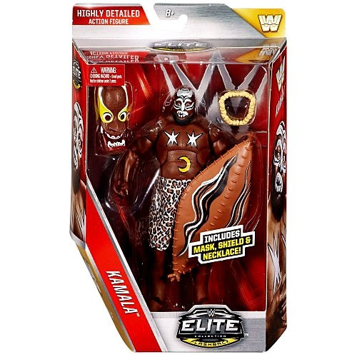 WWE Wrestling Elite Lost Legends Series Kamala Action Figure