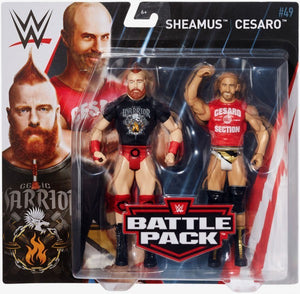 WWE Wrestling Basic Series #49 Sheamus & Cesaro Action Figure 2 Pack