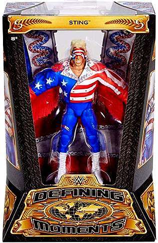 WWE Wrestling Elite Series Defining Moments Sting Action Figure