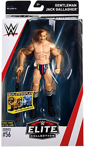 WWE Wrestling Elite Series #56 Gentleman Jack Gallagher Action Figure
